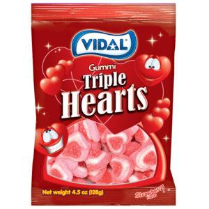 Gummi Triple Hearts