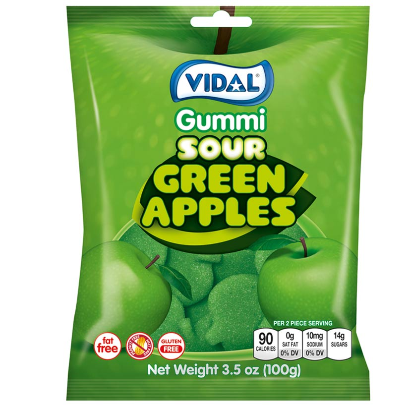 Sour Green Apples
