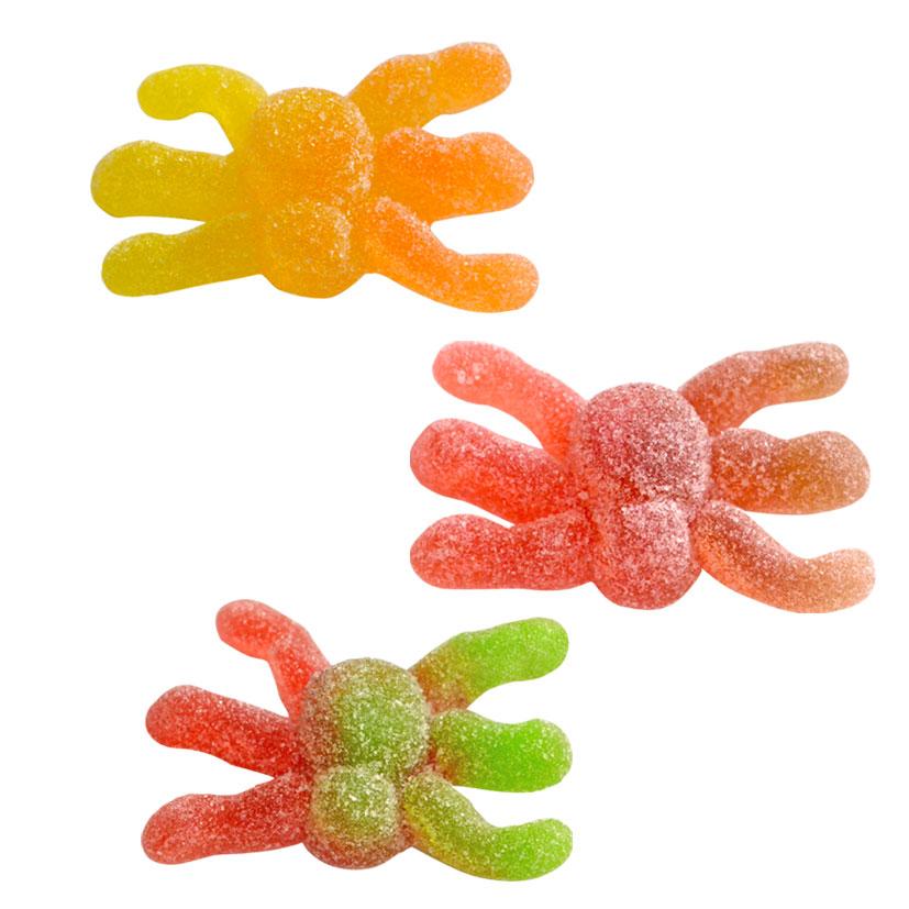 Gummi Hairy Spiders