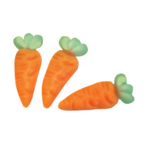 Gummi Carrots