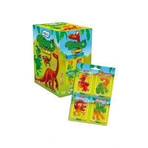 """New"" Dino Gummi 4-Pk"