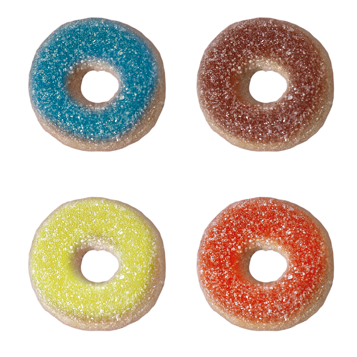 """""""NEW"""" Gummi """"Glazed"""" Donuts"""