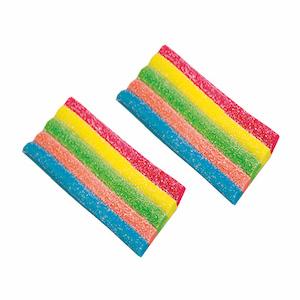 """NEW"" Sour Rainbow Belt Bites"